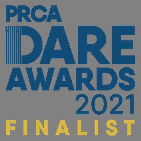 PRCA DARE award finalist 2021
