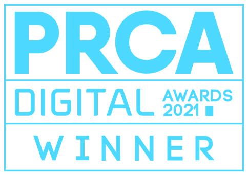 PRCA Digital Awards 2021 Winner