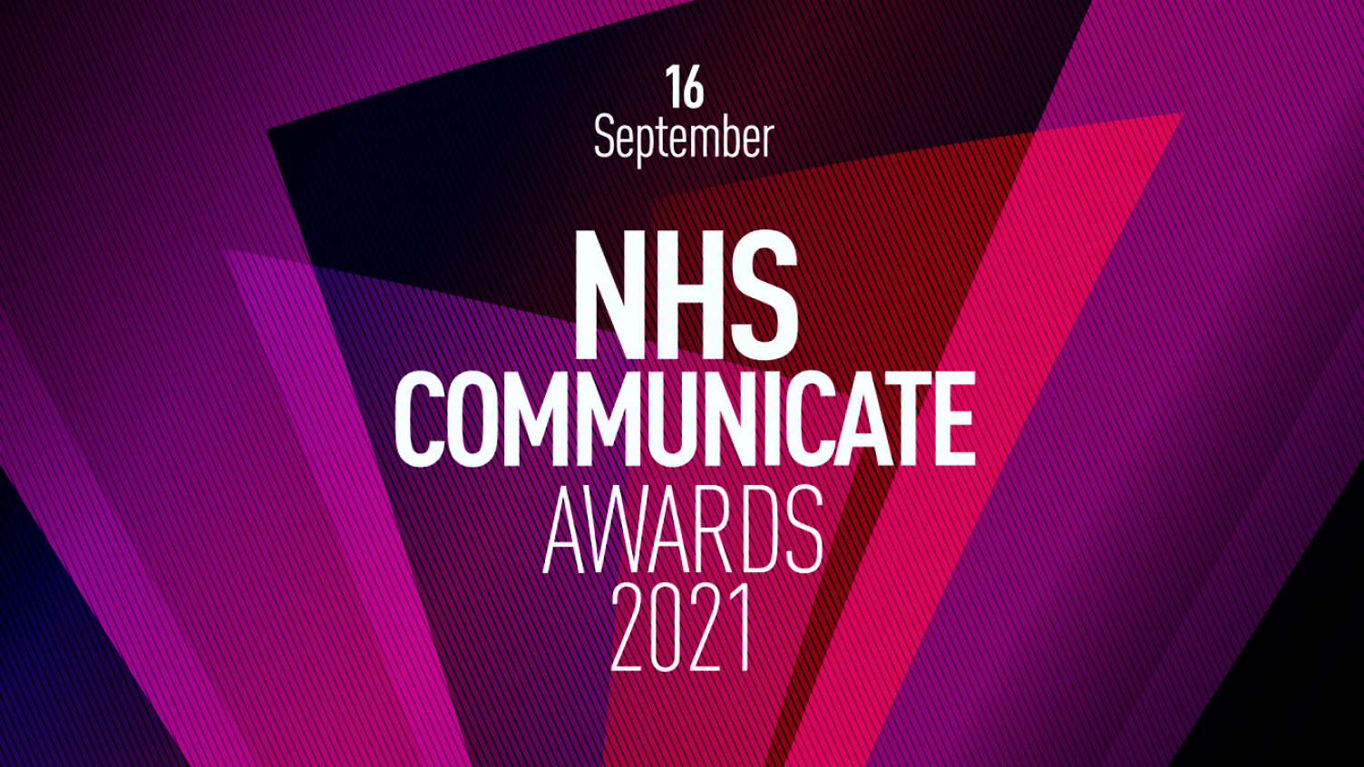 Logo for NHS communicate awards 2021